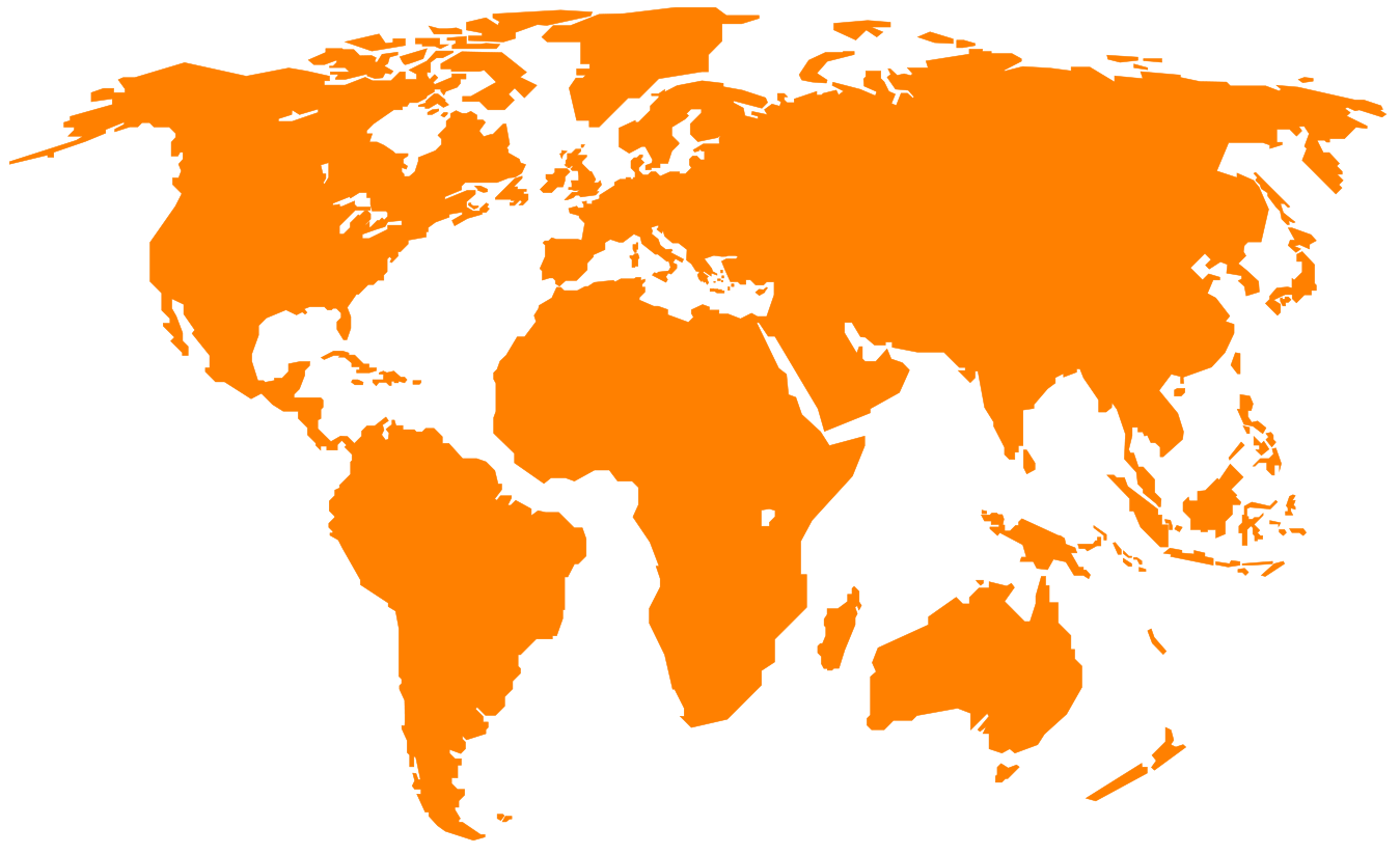 100 World Map Vector Orange Web Blank Wallpapers High Quality Bkv83